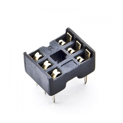 6 pin IC Base Socket Connector Holder - DIP socket