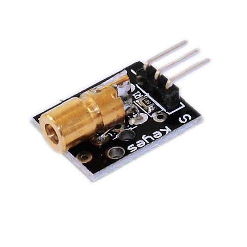 KY008 LASER Diode Module - 5mW 650nm 5V
