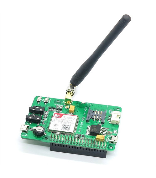 SIM800A GSM GPRS Module and SMA Antenna