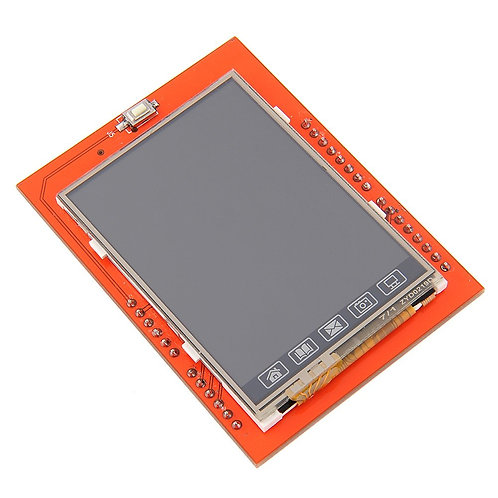 2.4 Inch TFT Touch Screen - LCD Color Display Module Shield with Inbuilt SD Card