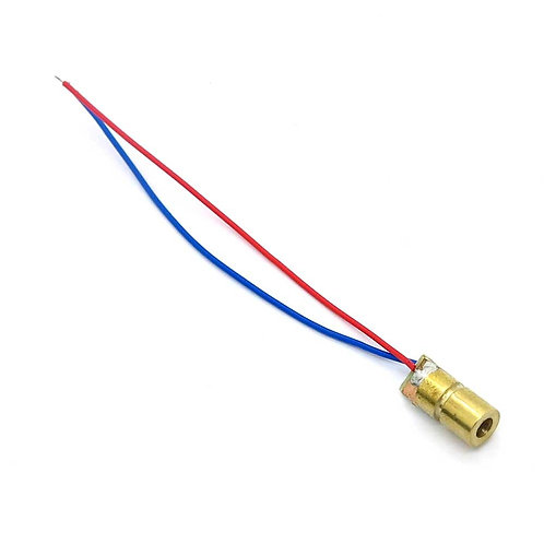 Laser Module Diode Red Pointer Dot 650nm 5V DC 5mW Copper Head Head WL Red