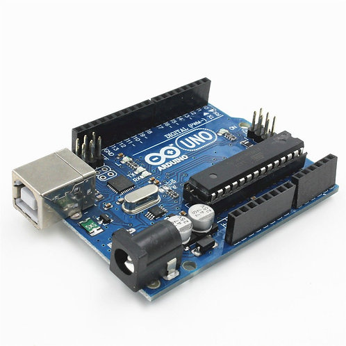 Arduino UNO R3 Development Board (Cable not included)