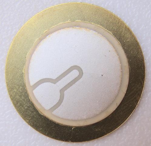 Piezoelectric Sensor Transducer Buzzer Disc Piezo electric module - 27mm
