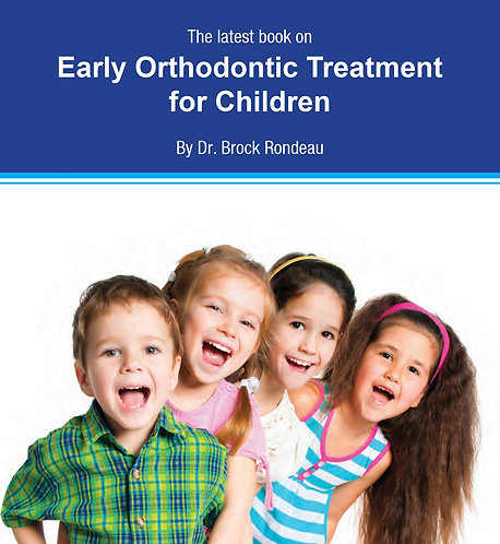 Early Orthodontic Treatment by Dr. Brock Randeau