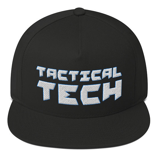 Flat Bill Cap - Tactical Tech