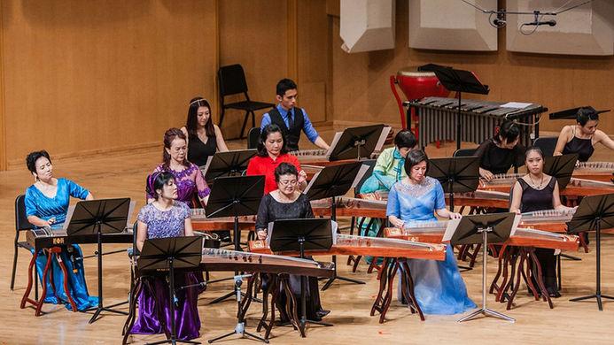 11.1.1 Group 1 - 新加坡阮协会,新加坡琴筝学会《筝阮情韵》 -
