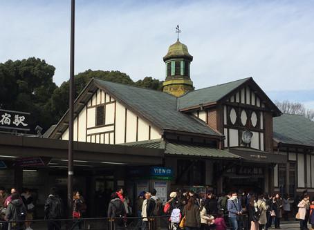 10%OFFクーポンプレゼント♪と原宿駅のステンドグラス