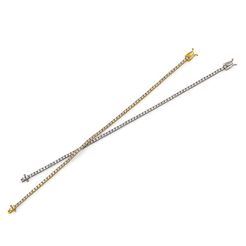 Thin Tennis Bracelet