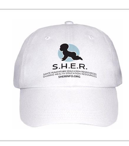 Casquette logo S.H.E.R/S.H.E.R baseball cap