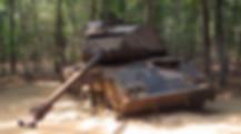 Cu Chi Tank from Vietnam war, USA