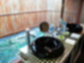 Privacy in your own Spa on Huma island