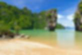 Famous Landmark on Phuket beach