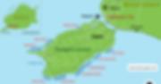 Map of Panglao Island