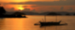 Sunset on Coron Tours