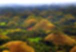Famous Chocolate Hills, UNESCO Site