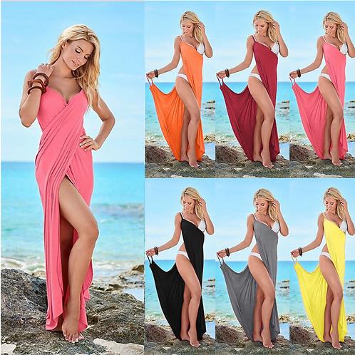 Beachwear Swimwear Bikini Cover Up Kaftan Ladies Summer Dress 8193