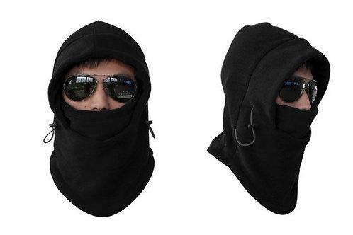 Unisex Fleece Thermal Balaclava Sports Black