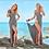Thumbnail: Beachwear Swimwear Bikini Cover Up Kaftan Ladies Summer Dress 8193