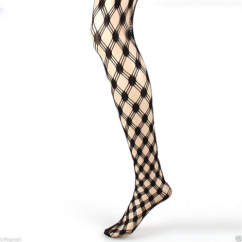 Fishnet Net Pattern Jacquard Pantyhose Tight 1302