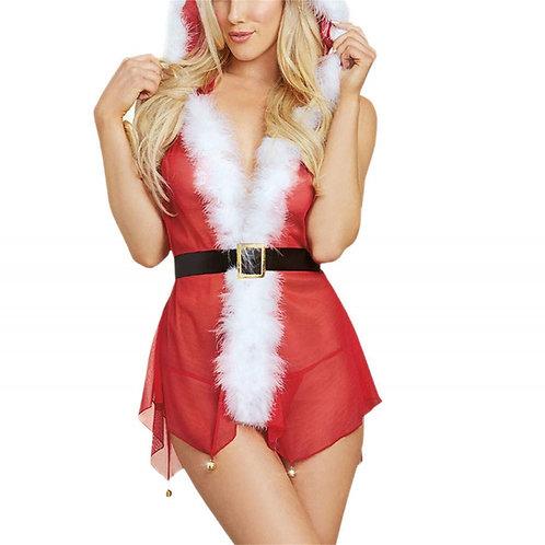 Christmas Erotic Mrs Claus Lingerie 4302