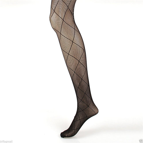 6 pack Fishnet Net Pattern Pantyhose Tight 1834
