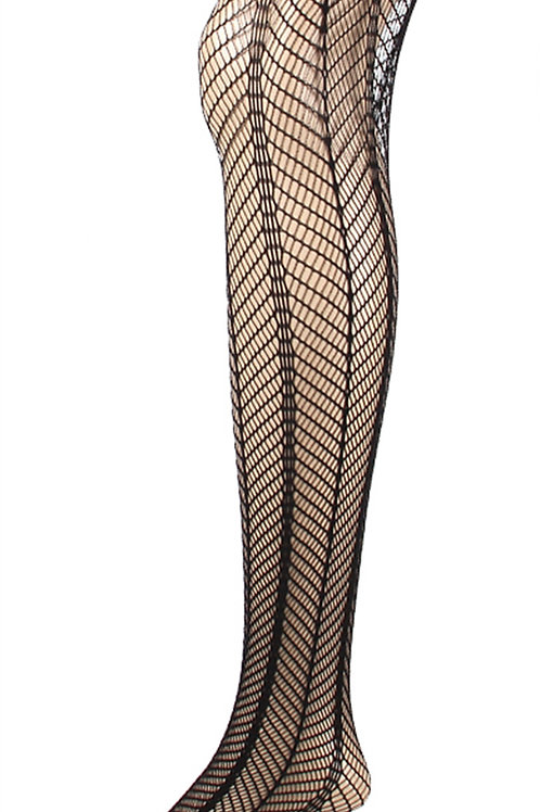 Fishnet Net Pattern Jacquard Pantyhose Tight 1111