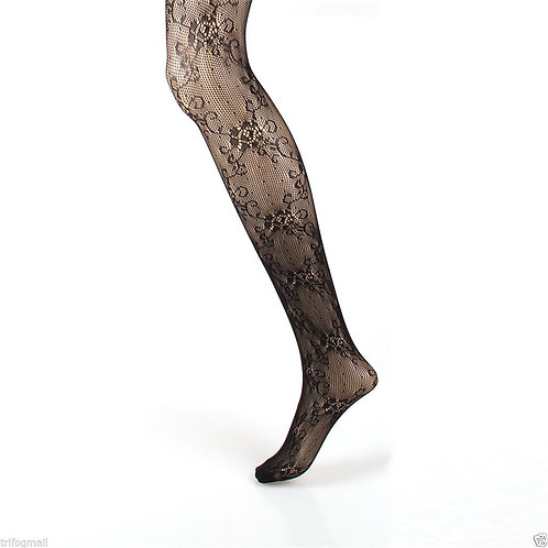 Fishnet Net Pattern Jacquard Pantyhose Tight 1165