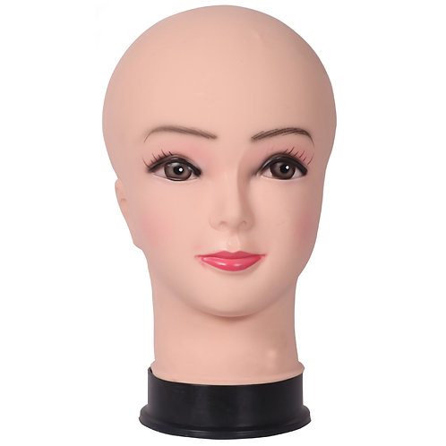 Female Head Mannequin Display Scarves Wigs Hats