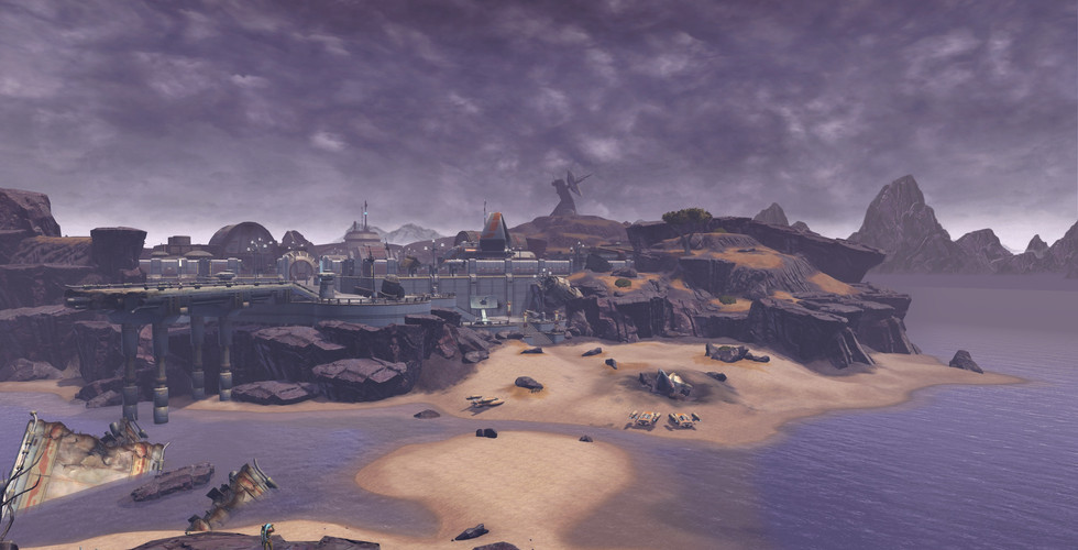 Ord Mantell - Island Stronghold