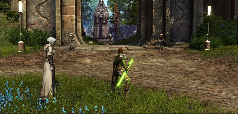 Jedi Ruins -