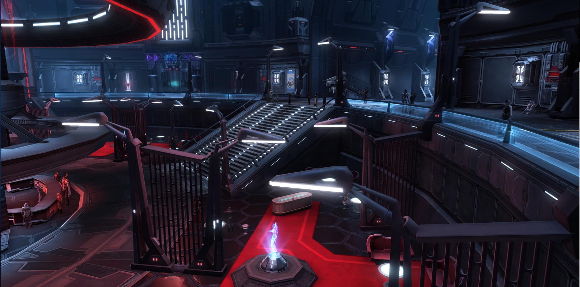 Empire Station - Central Hub
