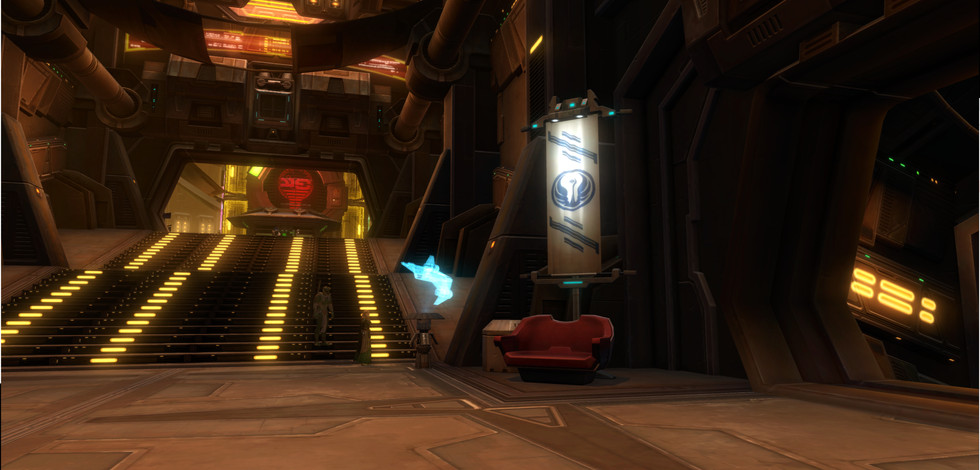 Alliance Station - Staircase