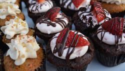 Chocolate Strawberry Muffin