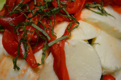 Roasted Red Pepper and Mozz
