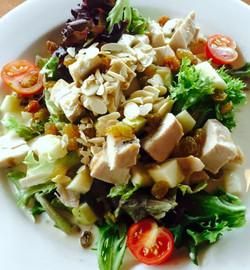 Apple Almond Chicken Salad