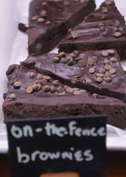 On The Fence Brownies