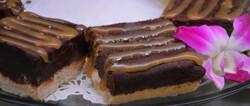 Salted Caramel Peanut Butter Brownie