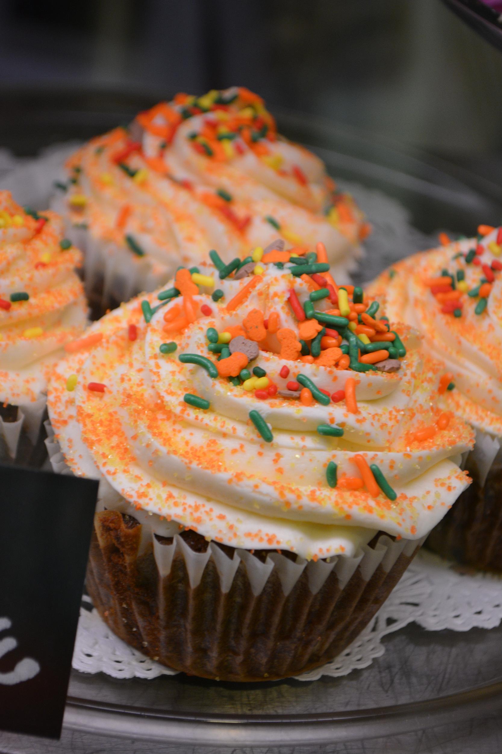 Orange Carrot Cupcake