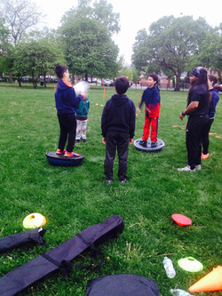 Sports development training for kids
