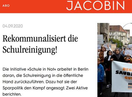 Unser Beitrag im Jacobin