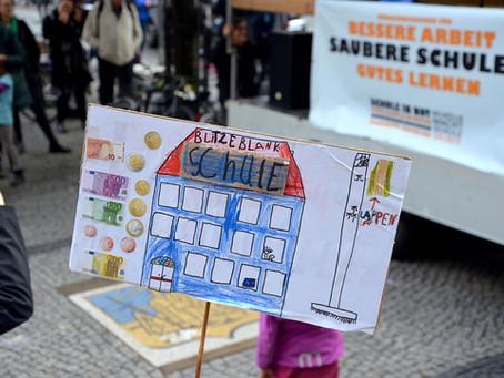 Modellprojekte für Saubere Schulen!  - Verhandlungen für Nachtragshaushalt laufen noch wenige Tage