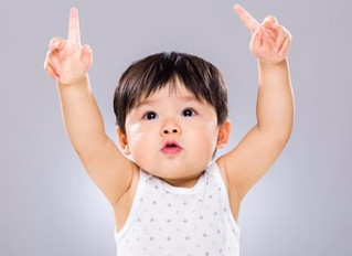 手を動かす赤ちゃんは、言葉が発達する?〜赤ちゃんのボディランゲージと言語能力との関係〜