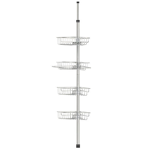Exquisite Tension Pole 4-shelves