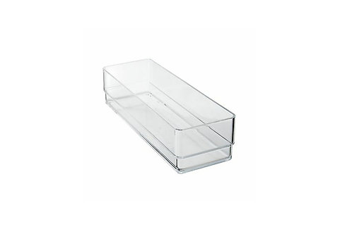 Clear Plastic Storage Organizer Bin