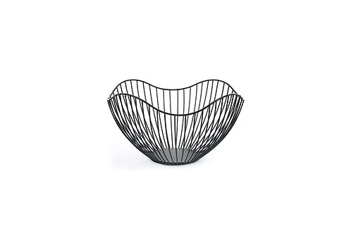 Contemporary Wire Bowl - Curved Top