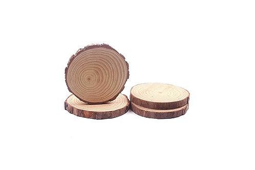 Natural Wood Slices / Slabs - Set of 4
