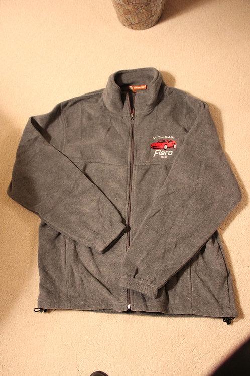 Gray MFC Full Zip Fleece