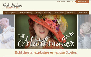 Welcome to A Brand New Website for Girl Friday Productions!