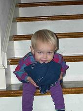 Elinor on stairs.jpg