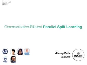 Taming Stragglers in Parallel Split Learning